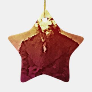 Dostoyesvky Keramik Stern-Ornament