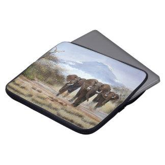 Douille d'ordinateur portable d'éléphant de housse pour ordinateur portable