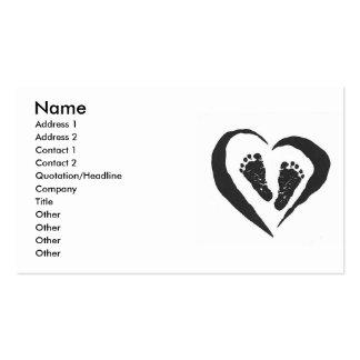 Doula Hebamme-Visitenkarte