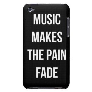 Douleur de musique coques iPod Case-Mate