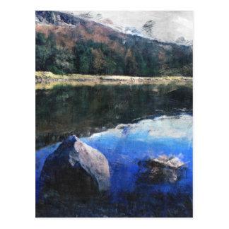 Dovestone Reservoir Postkarte