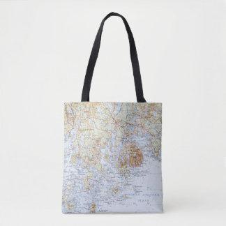 Downeast Maine Karten-Taschen-Tasche Tasche