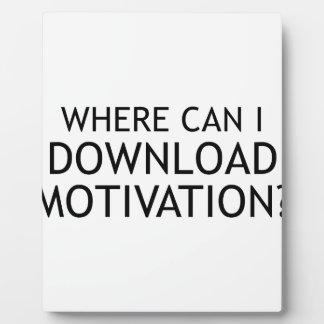 Download-Motivation Fotoplatte