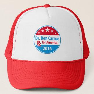Dr. Ben Carson 2016 - Verordnung für Amerika Truckerkappe