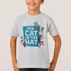 Dr. Seuss   die Katze im Hut-Logo - Charaktere T-Shirt