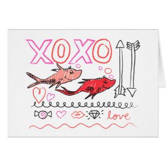 Dr. Seuss Valentine | XOXO Karte
