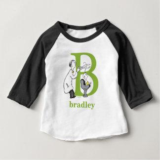Dr. Seusss ABCs: Buchstabe B - Grün   addieren Baby T-shirt
