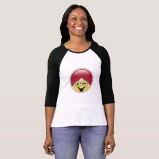 Dr.social Media Tongue Wink Turban Emoji T - Shirt
