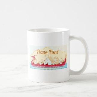 Drache-Boot - Feuer-Drache - haben Sie Spaß Kaffeetasse