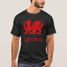 Drache Celtic-Wales Waliser Cymru T-Shirt