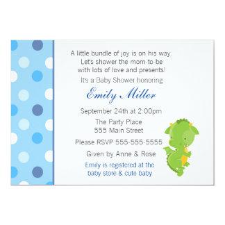Drache-Einladungs-Baby-Dusche 12,7 X 17,8 Cm Einladungskarte
