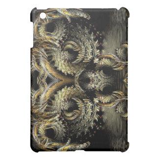 Drache-Eule Rorschach Fraktal-Kunst iPad Fall iPad Mini Hülle