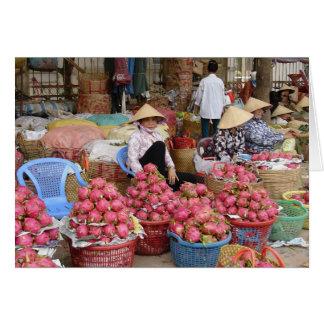 Drache-Frucht für Verkauf Karte