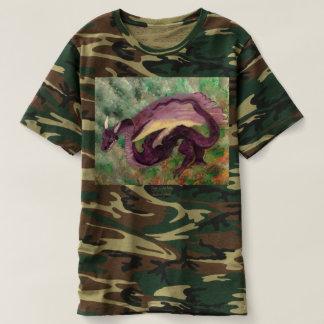 Drache gemaltes T-Shirt