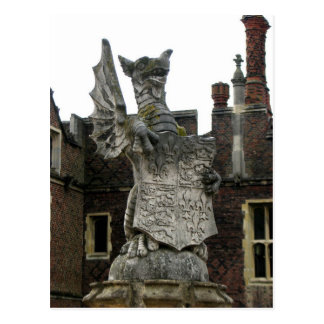 Drache, Hampton Court, England Postkarte