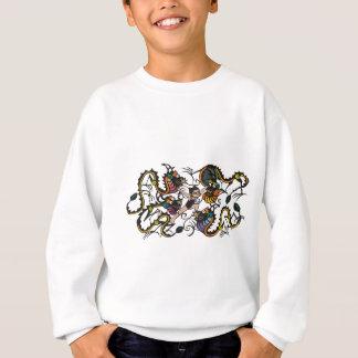 Drache-Kämpfer-kämpfende Drachen Sweatshirt