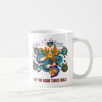 Drache-Karneval 2 Louisiana Kaffeetasse