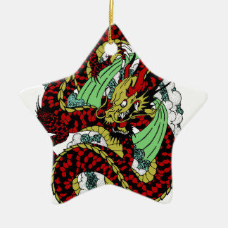 Drache Keramik Ornament