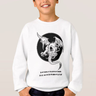 Drache-Ketschup 1 Sweatshirt