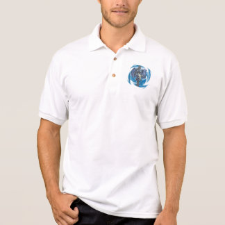 Drache-Kreuz - Polo-Shirt Polo Shirt