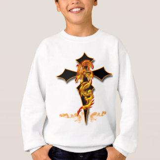 Drache - Kreuz Sweatshirt