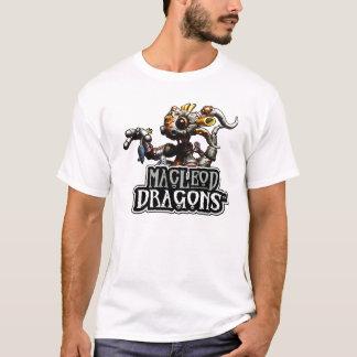 Drache MD Steampunk (WEISS) T-Shirt