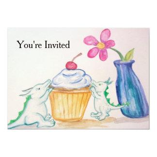 Drache-Party Einladung
