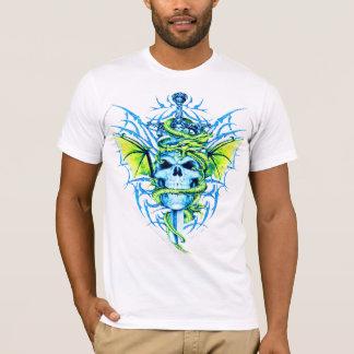 Drache-Schädel-T - Shirt