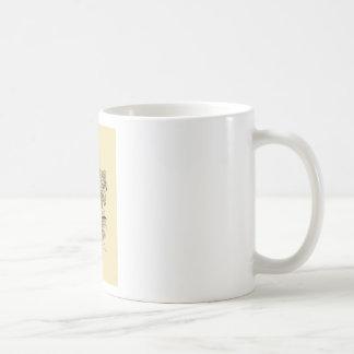 Drachedame Kaffeetasse