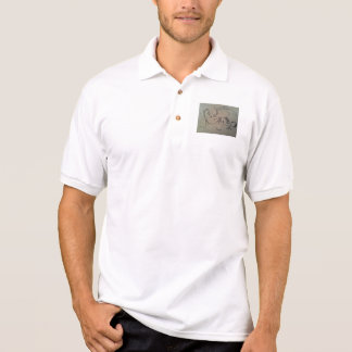Drachekragendruck Polo Shirt