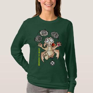 Drachen Vrs Schafe [jonglieren Sie jene Schafe] T-Shirt