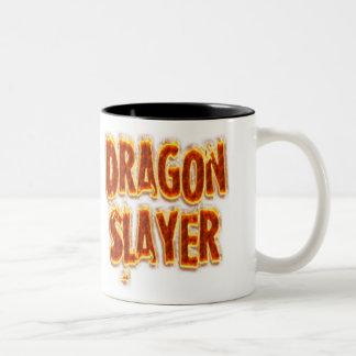 Dracheslayer-Feuer Zweifarbige Tasse