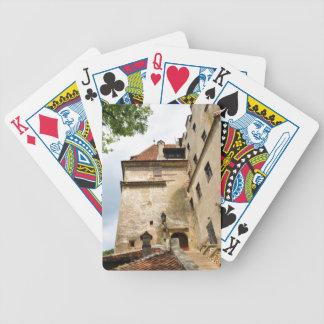 Dracula-Schloss in der Kleie, Brasov, Siebenbürgen Bicycle Spielkarten