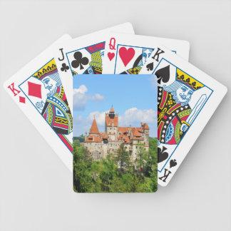 Dracula-Schloss in Siebenbürgen, Rumänien Bicycle Spielkarten