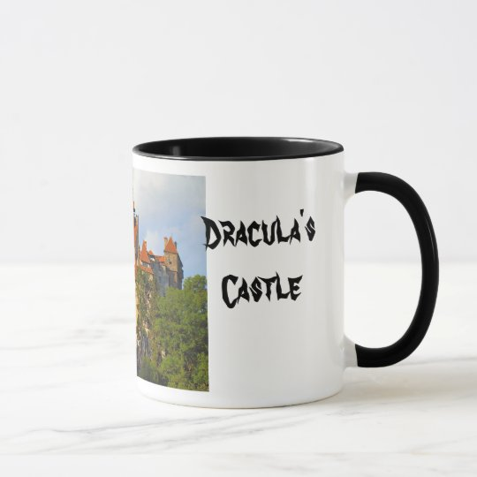 Draculas Schloss, Kleie, Transylvannia Tasse