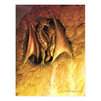 DragonFire Postkarte