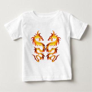 Dragons jumeaux t-shirt pour bébé