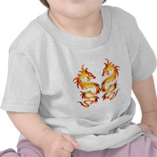 Dragons jumeaux t-shirts