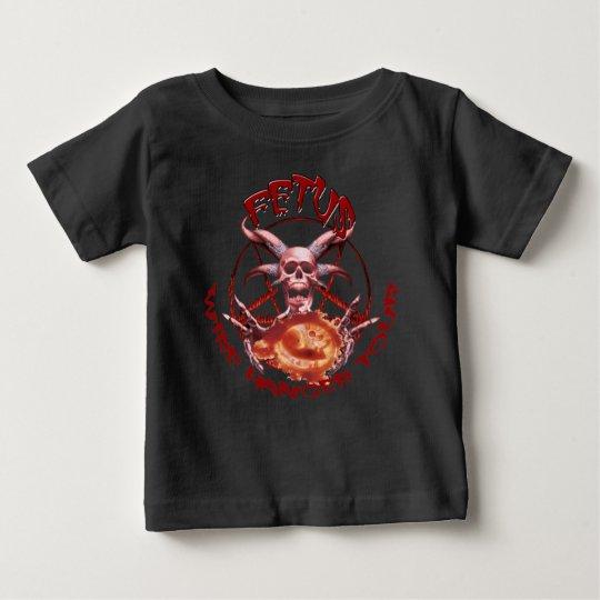 Draht-Aufhänger-Ausflug Baby T-shirt