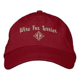 Draht-Foxterrier-Mamma-Geschenke Bestickte Baseballkappe