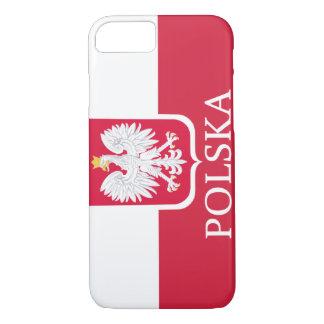 Drapeau blanc de Polska Eagle Coque iPhone 7