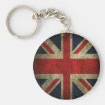 Drapeau britannique BRITANNIQUE d'Union Jack de vi Porte-clé