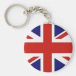 Drapeau britannique porte-clef