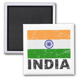 Drapeau de cru de l'Inde Magnets Pour Réfrigérateur