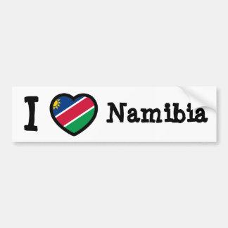 Drapeau de la Namibie Autocollant Pour Voiture