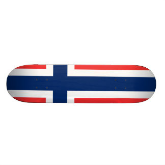 Drapeau de la Norvège Skateboards Cutomisables