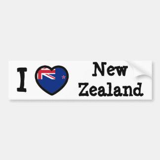 Drapeau de la Nouvelle Zélande Autocollant Pour Voiture
