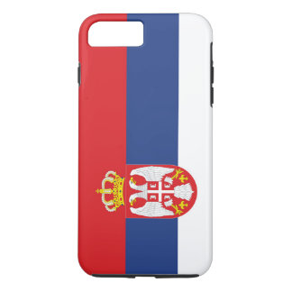 Drapeau de la Serbie Coque iPhone 7 Plus