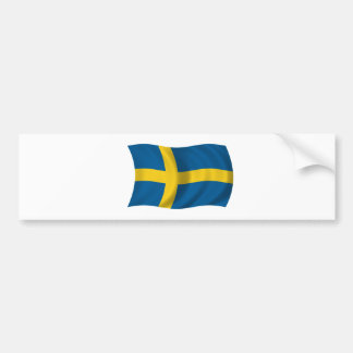 Drapeau de la Suède Autocollant De Voiture