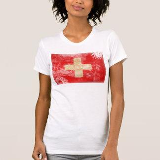 Drapeau de la Suisse T-shirts